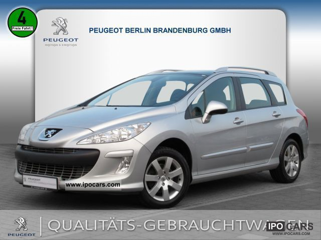 2009 peugeot 308 sw sport vti 120 air car photo and specs. Black Bedroom Furniture Sets. Home Design Ideas