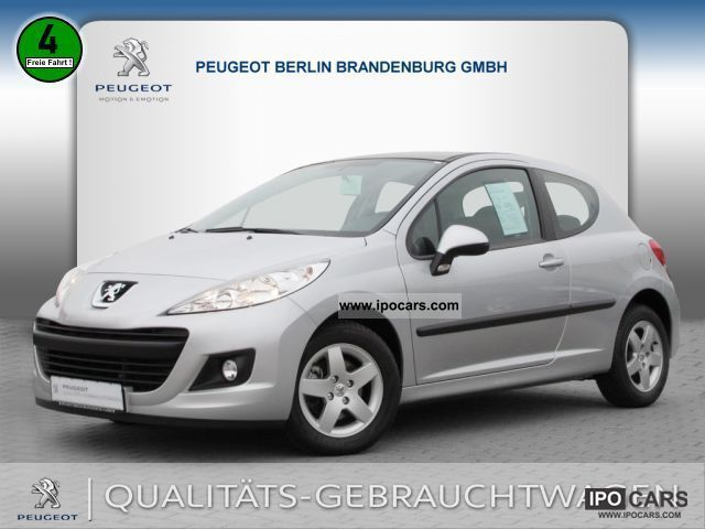 2011 peugeot 207 urban move 95 vti air car photo and specs. Black Bedroom Furniture Sets. Home Design Ideas