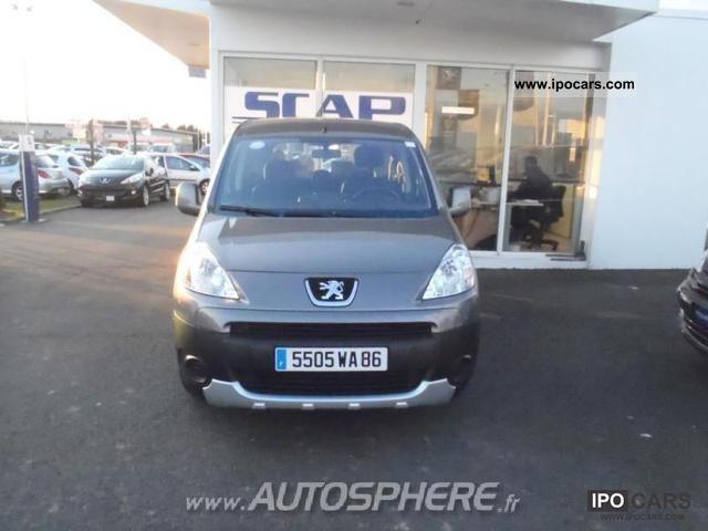 2008 Peugeot  Partner Tepee 1.6 HDi90 Loisirs Estate Car Used vehicle photo