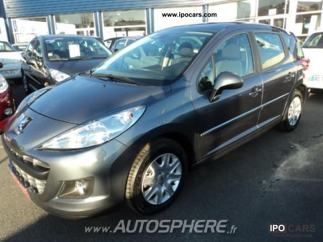 2011 peugeot 207 sw 1 6 hdi fap blue lion active car photo and specs. Black Bedroom Furniture Sets. Home Design Ideas
