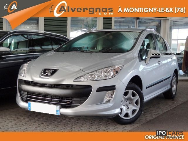 2009 peugeot 308 1 6 hdi 110 fap comfort pack gps pac car photo and specs. Black Bedroom Furniture Sets. Home Design Ideas