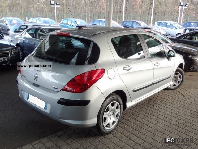 2009 peugeot 308 1 6 hdi 110 fap comfort pack gps pac car photo and specs