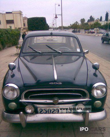 1958 Peugeot  403 Limousine Used vehicle photo