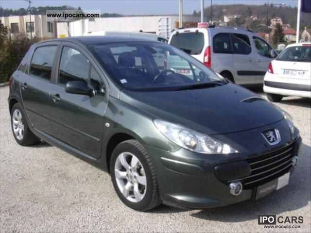 2007 peugeot 307 1 6 16v sport 5p car photo and specs. Black Bedroom Furniture Sets. Home Design Ideas