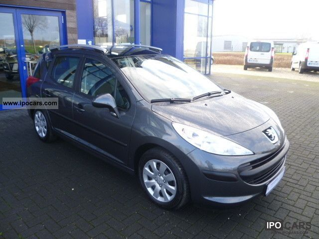 2009 peugeot 207 sw hdi fap 90 blue lion car photo and specs. Black Bedroom Furniture Sets. Home Design Ideas