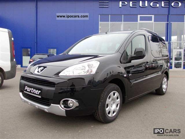 2012 Peugeot  Partner Tepee HDI FAP 110 Family Estate Car Demonstration Vehicle photo