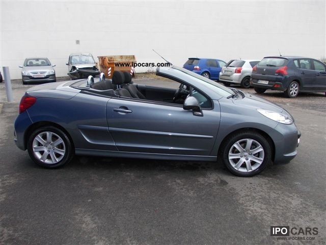 2009 peugeot 207 cc sport hdi 110 fap car photo and specs. Black Bedroom Furniture Sets. Home Design Ideas
