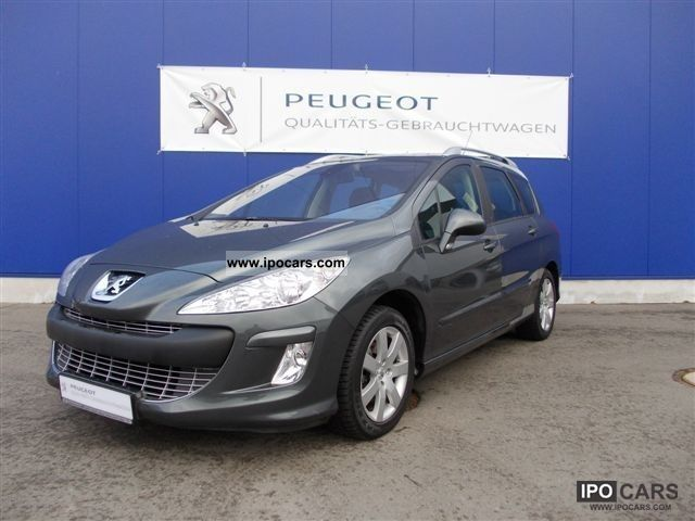2009 peugeot 308 sw 120 vti sport automatic car photo and specs. Black Bedroom Furniture Sets. Home Design Ideas