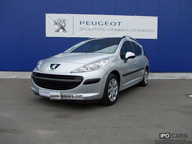 2009 peugeot 207 sw hdi fap tendance 90 car photo and specs. Black Bedroom Furniture Sets. Home Design Ideas