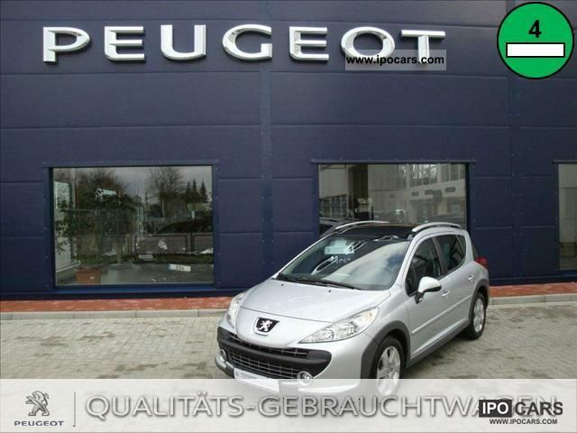 2011 peugeot 16v 207 1 6 hdi 110 fap sw pre car photo and specs. Black Bedroom Furniture Sets. Home Design Ideas
