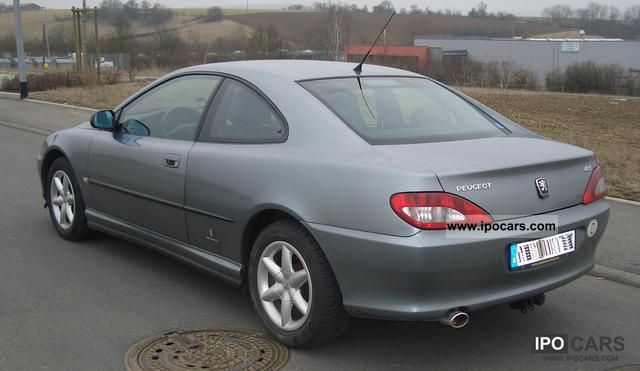 2007 peugeot hdi 406 coup car photo and specs - Peugeot 406 coupe 2 2 hdi ...