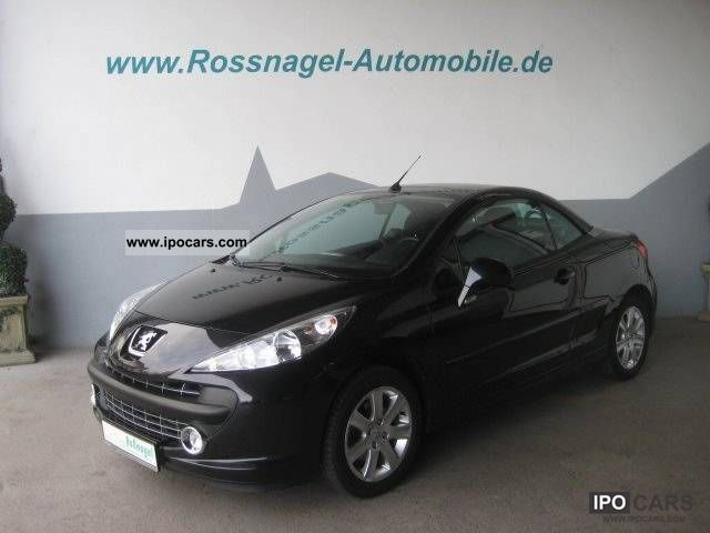 2009 peugeot 207 cc sport 120 vti car photo and specs. Black Bedroom Furniture Sets. Home Design Ideas