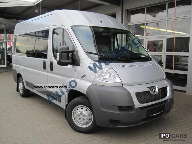 2011 peugeot boxer 120hdi combined 9 seater air l2h2 car photo and specs. Black Bedroom Furniture Sets. Home Design Ideas
