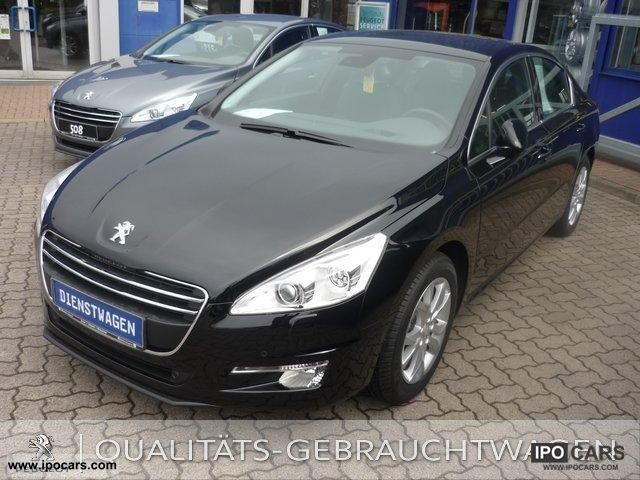 2012 peugeot 508 allure hdi sports automatic images. Black Bedroom Furniture Sets. Home Design Ideas