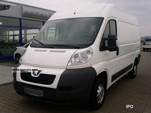 2011 peugeot boxer l2h2 333 hdi120 pdc car photo and specs. Black Bedroom Furniture Sets. Home Design Ideas