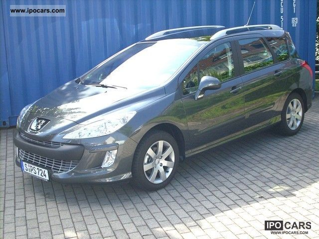 2008 peugeot 308 1 6 hdi 110 sw sport navi car photo and specs. Black Bedroom Furniture Sets. Home Design Ideas