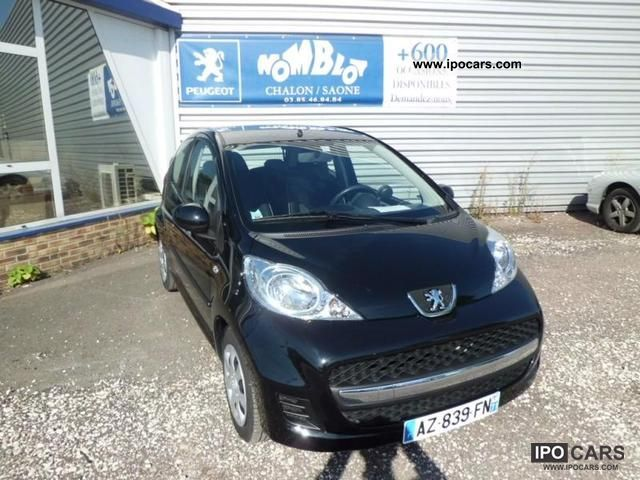 2010 Peugeot 107 1.4 HDi Trendy 3p Small Car Used vehicle photo
