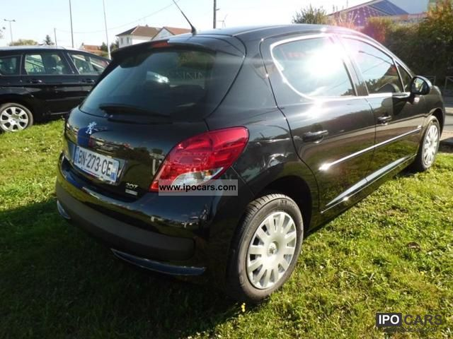 2011 peugeot 207 1 6 hdi fap 98g 5p car photo and specs. Black Bedroom Furniture Sets. Home Design Ideas