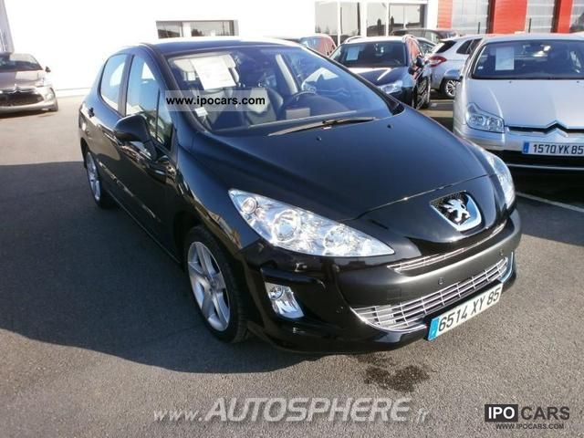 2007 peugeot 308 2 0 feline hdi136 fap 5p car photo and specs. Black Bedroom Furniture Sets. Home Design Ideas