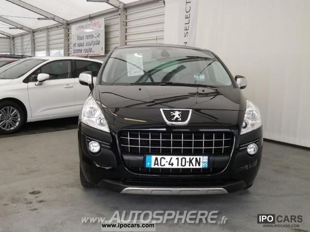 2009 peugeot 3008 1 6 thp 16v 156ch premium pack car photo and specs. Black Bedroom Furniture Sets. Home Design Ideas