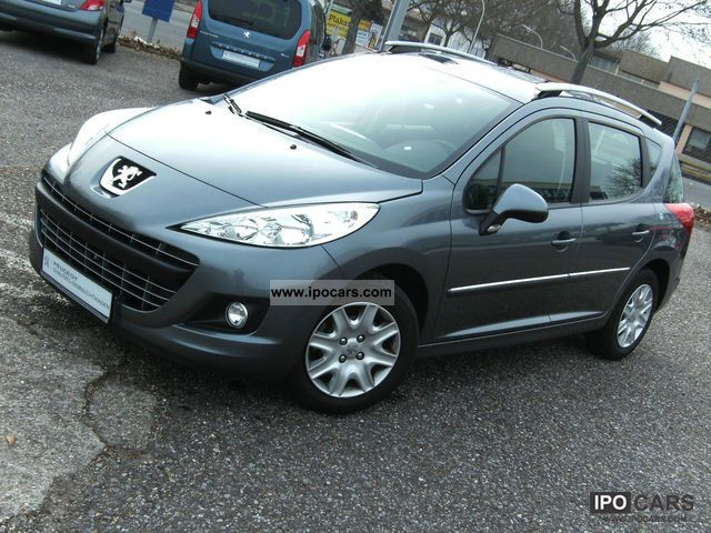 2011 peugeot 207 sw hdi 90 tendance air euro 5 car photo and specs. Black Bedroom Furniture Sets. Home Design Ideas