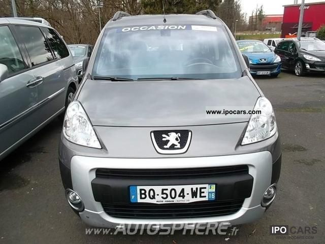2008 Peugeot  Partner Tepee Outdoor 1.6 HDi110 FAP Estate Car Used vehicle photo