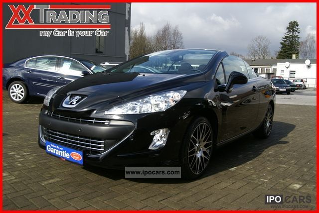 2009 peugeot 308 cc hdi fap 140 premium 1 hand 4593 km car photo and specs. Black Bedroom Furniture Sets. Home Design Ideas