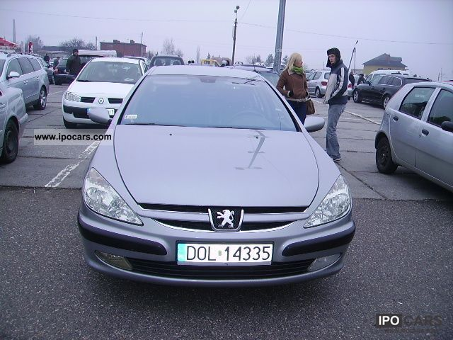 2002 peugeot sedan 607 2 2 hdi car photo and specs. Black Bedroom Furniture Sets. Home Design Ideas