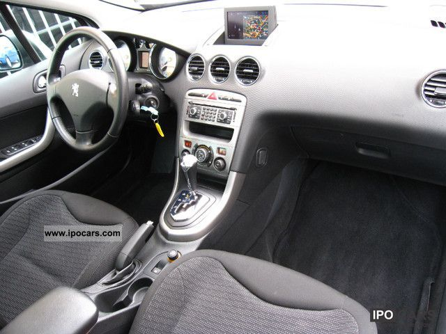 2008 peugeot 308 sw hdi 135 auto panoramic navi car photo and specs. Black Bedroom Furniture Sets. Home Design Ideas