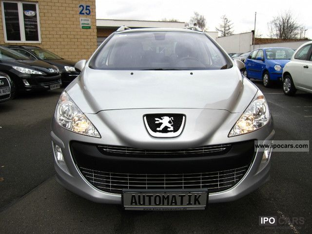 2008 peugeot 308 sw hdi fap 135 automatic business line car photo and specs. Black Bedroom Furniture Sets. Home Design Ideas