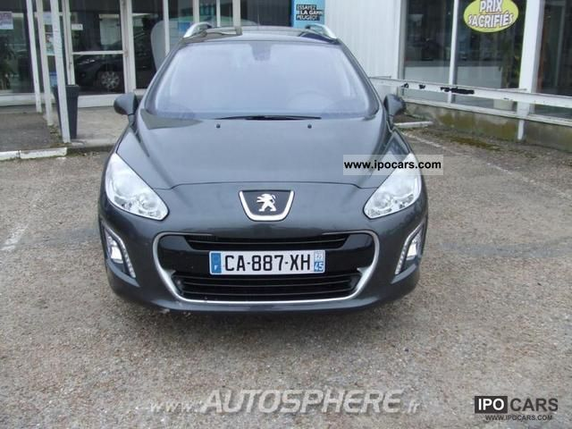 2012 peugeot 308 sw 1 6 e business pack fap hdi112 car photo and specs. Black Bedroom Furniture Sets. Home Design Ideas