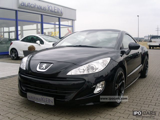 2010 peugeot thp 200 rcz leather navi xenon f r. Black Bedroom Furniture Sets. Home Design Ideas