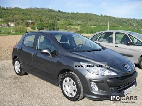 2010 peugeot 308 1 6 hdi 90 confort 5p car photo and specs. Black Bedroom Furniture Sets. Home Design Ideas