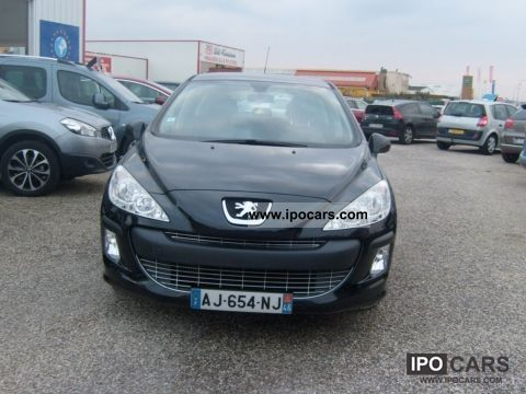 2009 peugeot cv 308 110 hdi sport car photo and specs. Black Bedroom Furniture Sets. Home Design Ideas