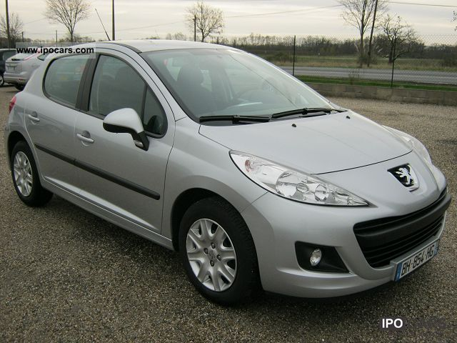 2011 peugeot 207 1 4 hdi 70 busines line 5p car photo and specs. Black Bedroom Furniture Sets. Home Design Ideas