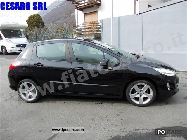 2009 Peugeot 308 1 6 Hdi Fap 110cv 5p Premium 6m Car Photo And Specs