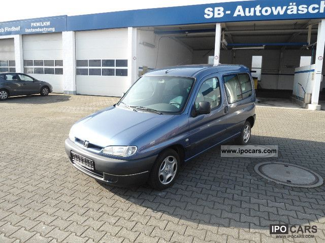 2000 peugeot partner hdi disabled air car photo and specs. Black Bedroom Furniture Sets. Home Design Ideas