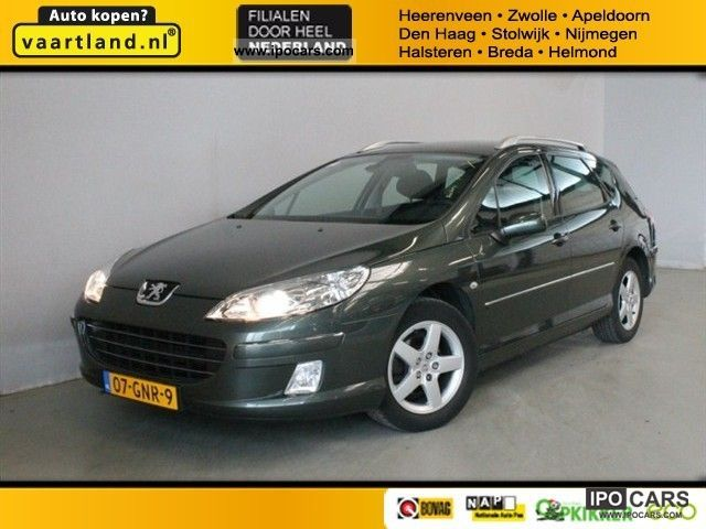2008 Peugeot  407 SW 2.0 16V stx panoramic vision Estate Car Used vehicle photo