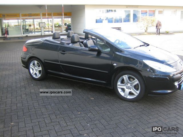 2007 Peugeot 307 Cabrio Air Leather Car Photo And Specs