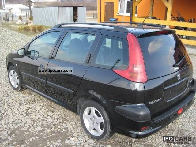 2004 peugeot 206 1 4 hdi sw car photo and specs. Black Bedroom Furniture Sets. Home Design Ideas