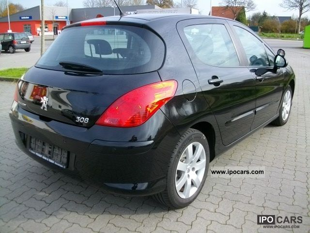 2008 peugeot 308 hdi 110 sport driving school car car photo and specs. Black Bedroom Furniture Sets. Home Design Ideas
