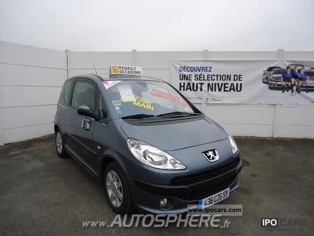 2008 Peugeot  1007 1.4 Trendy Van / Minibus Used vehicle photo