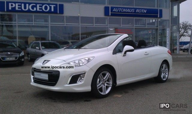 2012 peugeot active air 155 308 cc thp pdc mp3 cd car photo and specs. Black Bedroom Furniture Sets. Home Design Ideas