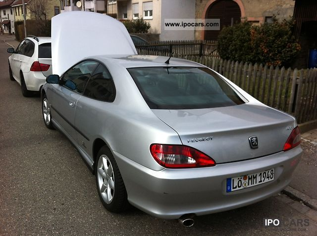 2001 peugeot 406 coupe 3 0 v6 car photo and specs. Black Bedroom Furniture Sets. Home Design Ideas