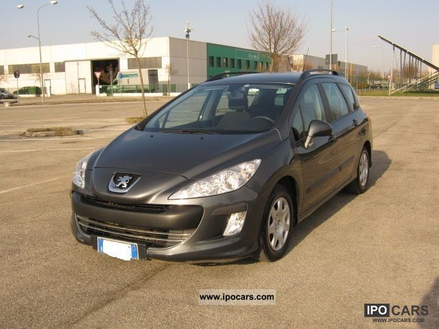 2009 peugeot 308 sw 1 6 hdi 16v prem fap 110cv car photo and specs. Black Bedroom Furniture Sets. Home Design Ideas