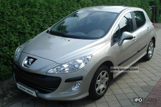 2009 peugeot 308 hdi fap 110 tendance one hand car photo and specs. Black Bedroom Furniture Sets. Home Design Ideas