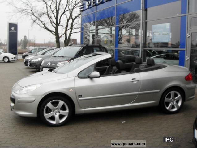2009 Peugeot 307 Cc 140 Jbl Car Photo And Specs