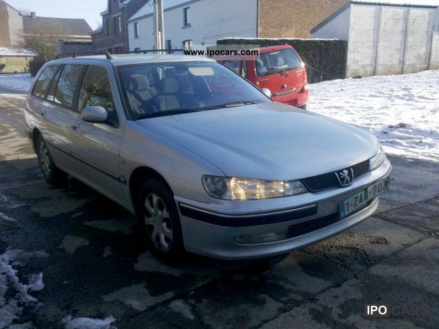 2003 peugeot 406 break 2 0 hdi 110 st confort pack car photo and specs. Black Bedroom Furniture Sets. Home Design Ideas