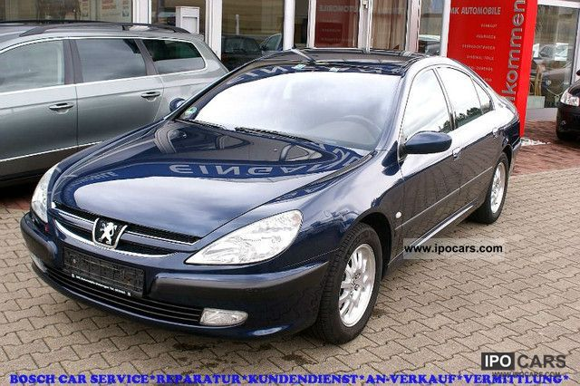 2002 peugeot 607 2 2 hdi fap 135 pdc ahk particle car photo and specs. Black Bedroom Furniture Sets. Home Design Ideas