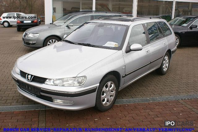 2002 peugeot 406 2 0 hdi 110 premium dpf green plaque car photo and specs. Black Bedroom Furniture Sets. Home Design Ideas